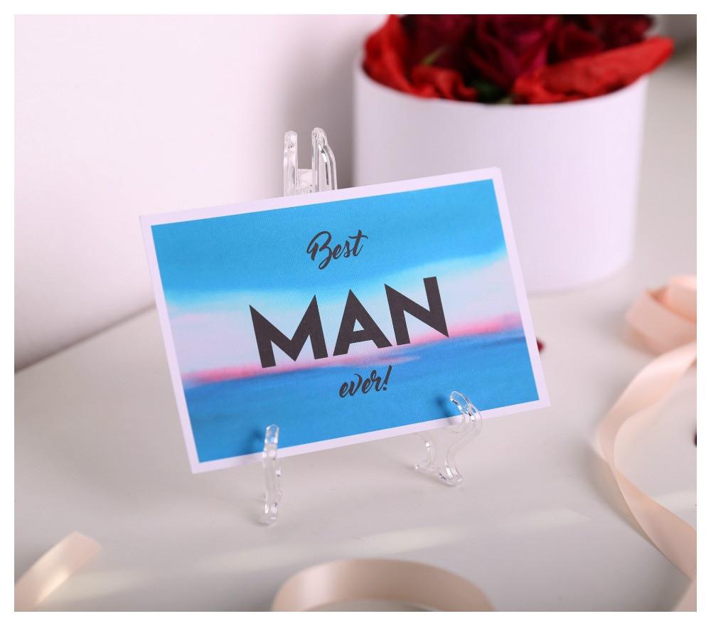 "Открытка  ""Best Man"""