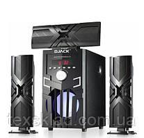 Комплект акустики 3.1 DJACK E-23 60W (USB/FM-радіо/Bluetooth)