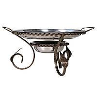 Подставка для подогрева мяса шашлыка Садж с коваными элементами 360 мм