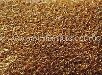 Соединительные колечки.золотоZ9 Цена за 100 грамм