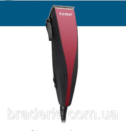 Машинка для стрижки Kemei 6358, фото 2