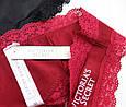 Набор Женского Нижнего Белья в стиле Victoria's Secret Трусики Стринги 3 шт., фото 5