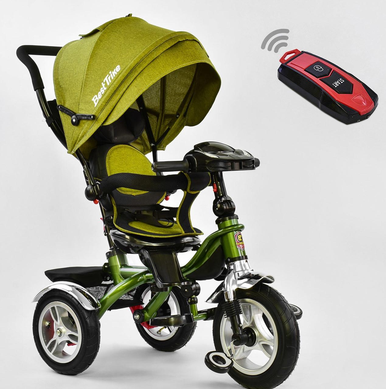 Триколісний велосипед Best Trike 5890 хакі