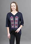 Трикотажная женская футболка в современном стиле, фото 3