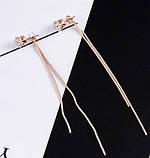 Жіночі довгі сережки. Сережки підвіски, фото 2