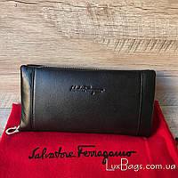 Крутой клат-кошелек Salvatore Ferragamo, фото 1