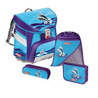 Школьный ранец Step by Step Light HAPPY DOLPHINS 129085 Дельфины