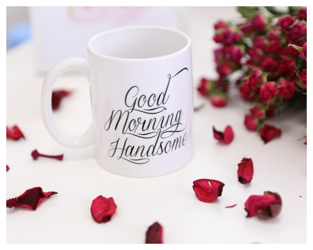 "Чашка ""Good morning handsome"""