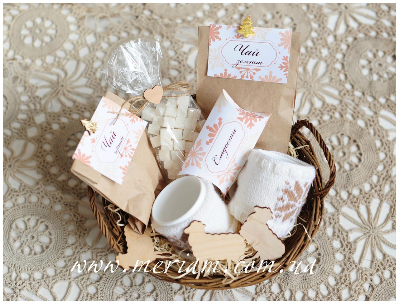 Корпоративні подарунки з чаєм