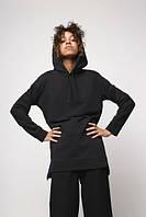 Худі жіноче чорне Шива (Sheeva) від бренду ТУР розмір S, M, фото 1