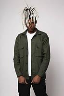 Куртка-рубашка хаки мужская Фьюри (Fury) от бренда ТУР размер S, M, L, XL, XXL, фото 1