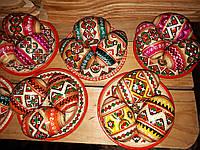 Пасхальные деревянные писанки наборы разные цвета, фото 1
