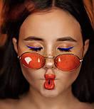 В расцветках солнцезащитные очки midi oval v4804, фото 3