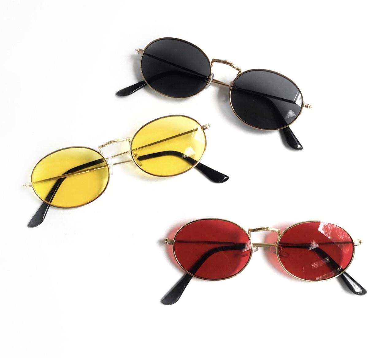 В расцветках солнцезащитные очки midi oval v4804