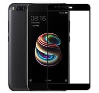 Защитное стекло для Xiaomi Mi A1 Full Cover Rinco (Black), фото 1