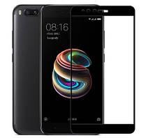 Защитное стекло для Xiaomi Mi A1 Full Cover Rinco (Black)