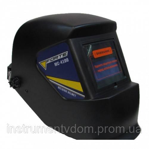 Сварочная маска-хамелеон FORTE MC-4100
