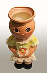 Кашпо девочка , фото 2