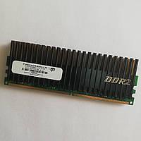 Игровая оперативная память Patriot DDR2 2Gb 800MHz PC2 6400U CL4 (PVS24G6400LLK) Б/У