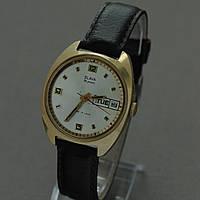 Slava Слава мужские механические часы СССР , фото 1