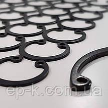 Стопорное кольцо внутреннее А190  ГОСТ 13943-86, DIN 472, фото 3