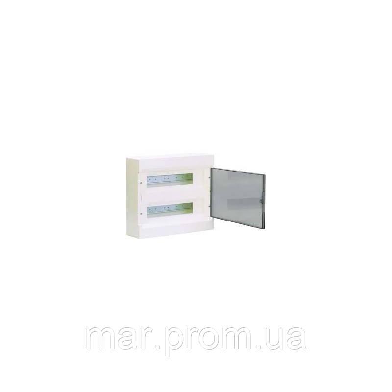 Щит с / у с прозрачными дверцами 24 мод. (2х12) COSMOS