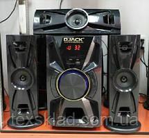 Комплект акустики 3.1 DJACK DJ-405 100W (USB/FM-радіо/Bluetooth)