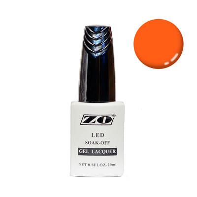 Гель-лак ZO, оранжевый, 20 мл