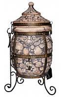 Тандыр Камень с откидной / съемной крышкой