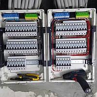 Установка, сборка электро щитка Киева , фото 1