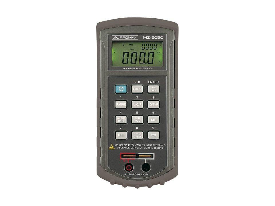 Измерительный прибор PROMAX MZ-505C: L/C/R с двойным дисплеем