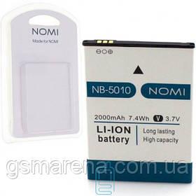 Аккумулятор NOMI NB-5010 для i5010 2000 mAh AAAA/Original в блистере