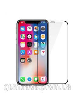 Закаленное защитное стекло для Apple iPhone X, 0,26 мм 9H, 5D Full Glue, черный