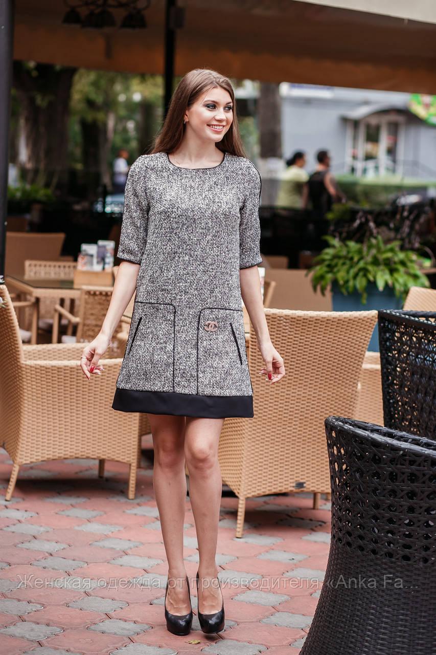 Короткое платье сарафан трикотаж