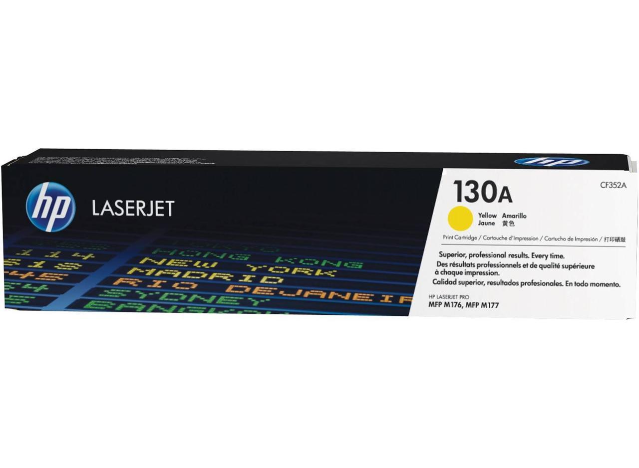 Заправка картриджа HP CF352A (130A) Желтый