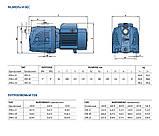 Насосная станция  Pedrollo HF JSWm 2AX/24CL (JSWm15MX/24), 1,1 кВт, 4,2 м3/ч, 58 м, фото 4