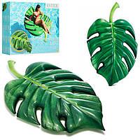 Надувний матрац-пліт Intex 58782 Пальмовий листок
