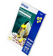 Фотобумага Epson, глянцевая, A4, 255 г/м2, 50 л, Premium Series (C13S041624)
