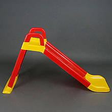 """Детская горка 140см """"Фламинго"""" Красно-желтая"""