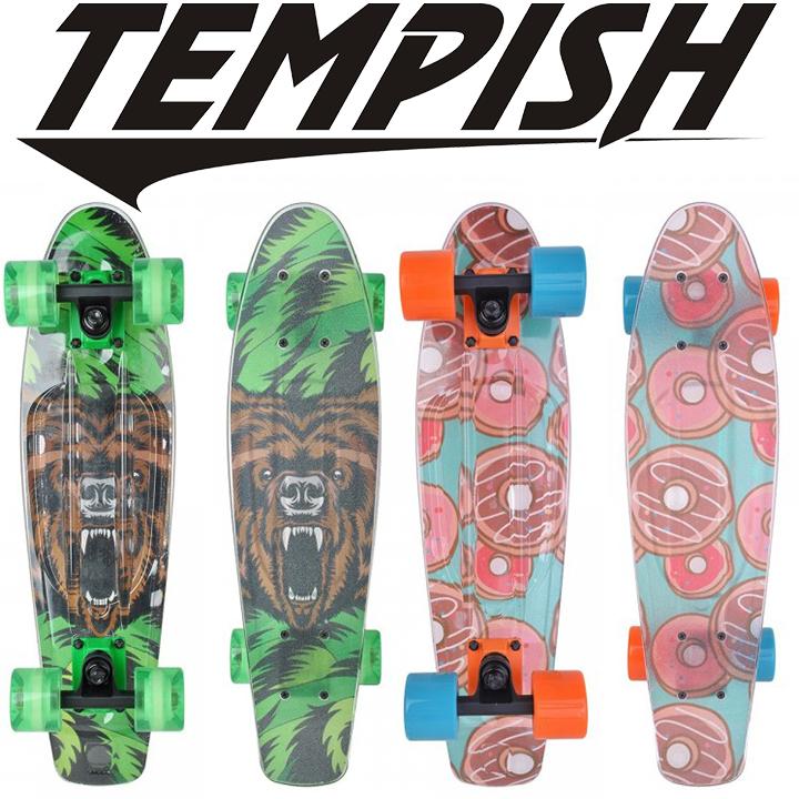 Скейтборд Tempish Buffy Flash X bear (светящиеся колеса)