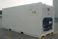 Новый грузовой личный рефрижератор 20 футов CARRIER (КАРИЕР)