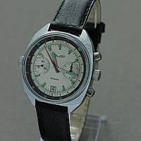 Poljot Полет 3133 часы хронограф СССР , фото 1