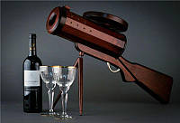 Мини-бар в виде пулемета, материал - ясень (наличие уточняйте)
