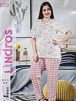 Женский комплект для сна  футболка + брюки