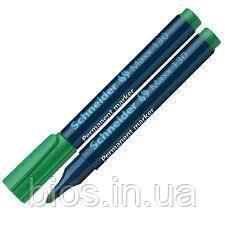 Маркер перманентний SCHNEIDER MAXX 130, зелений