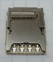 Коннектор Sim-карты+MMC-карты Samsung G355H/G900H/I9300i/N7502