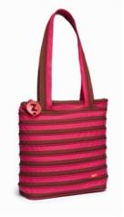 Сумка ZIPIT Premium Tote / Beach, цвет Fuchsia & Deep Brown (фуксия)
