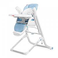 Стульчик для кормления,качеля,шезлонг 3 В 1 CARRELLO TRIUMPH CRL-10302 BLUE