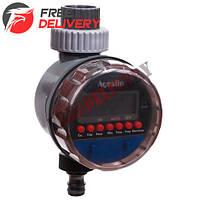 Таймер полива с шаровым клапаном цифр. упр Aqualin YL21026B с УФ защитой