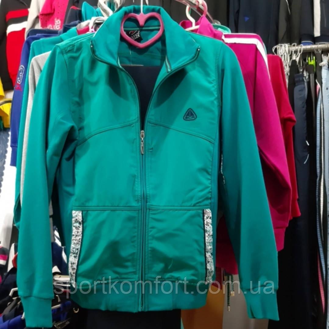 Спортивний трикотажний костюм SOCCER бірюза темно-синій розмір м